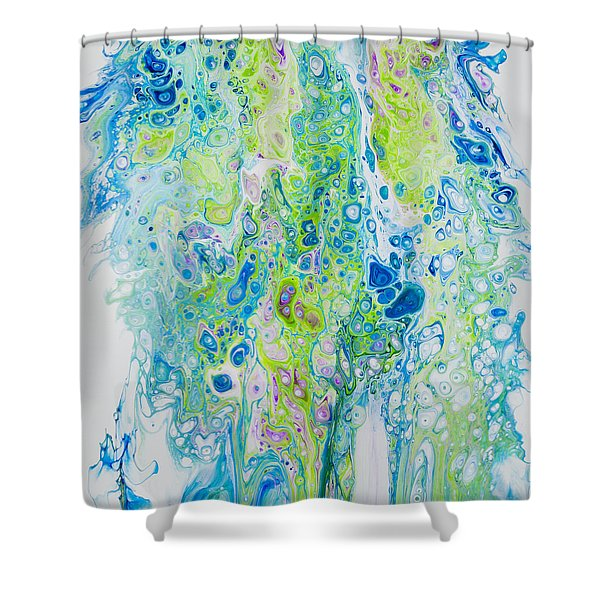 Standing In The Surf Shower Curtain