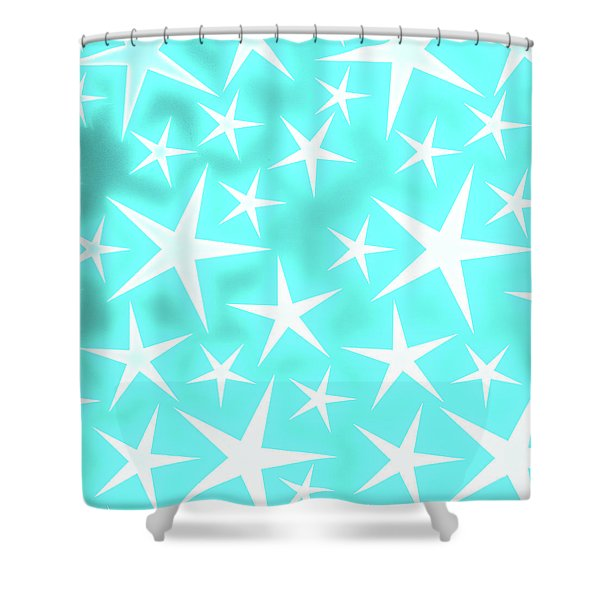 Star Burst 1 Shower Curtain