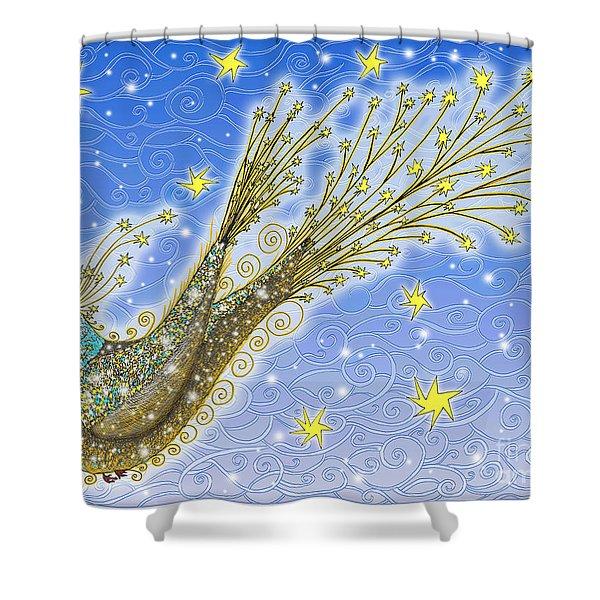 Starbird Shower Curtain