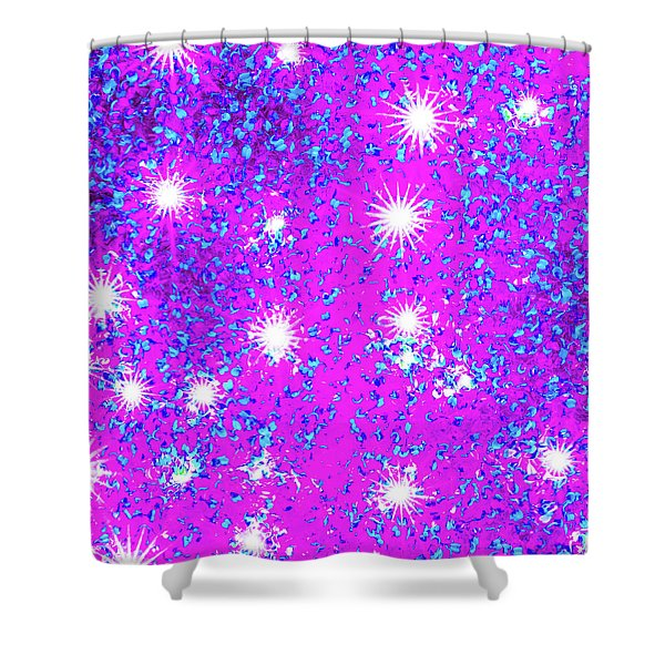 Starlight 4 Shower Curtain
