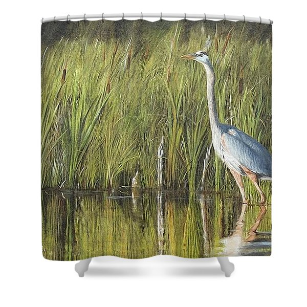 Stately Grace Shower Curtain