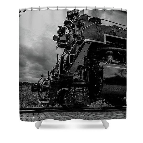 Steam Loco 765 Shower Curtain