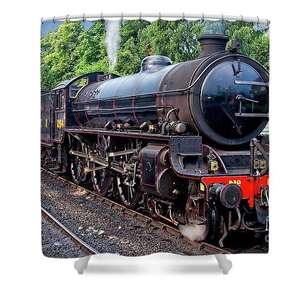 Steam Locomotive 1264 Nymr Shower Curtain