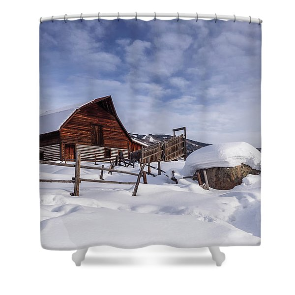 Steamboat Springs Shower Curtain