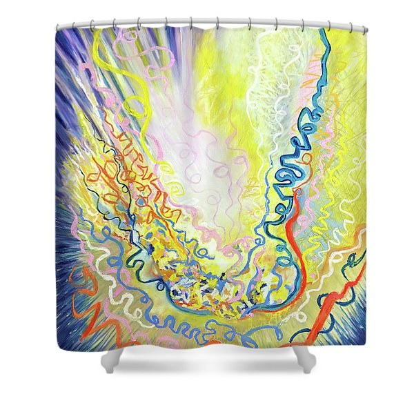 Steaming Hot Shower Curtain