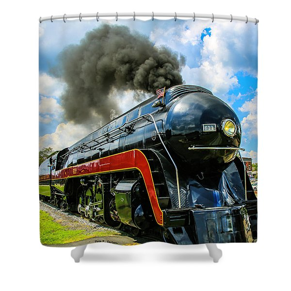 Steam's Up 611 Shower Curtain