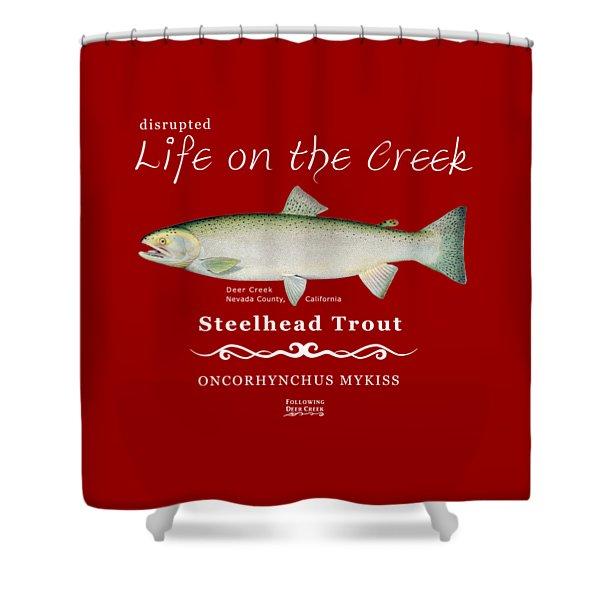Steelhead Trout Shower Curtain