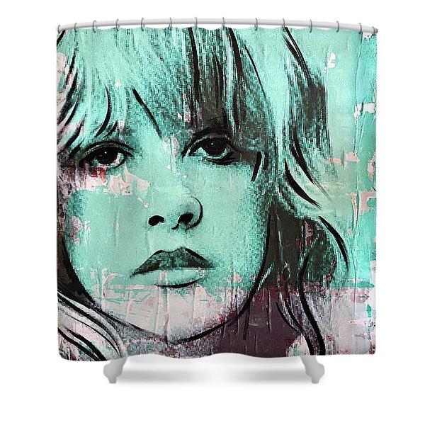 Stevies Crystal Visions Shower Curtain