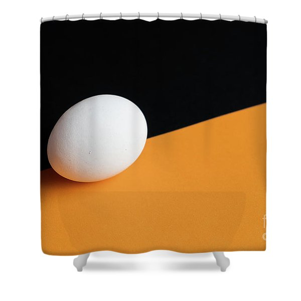 Still Life With Egg Shower Curtain