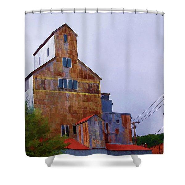 Stillwater Sentinel Shower Curtain