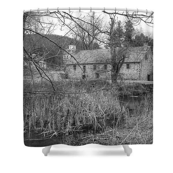 Stone And Reeds - Waterloo Village Shower Curtain