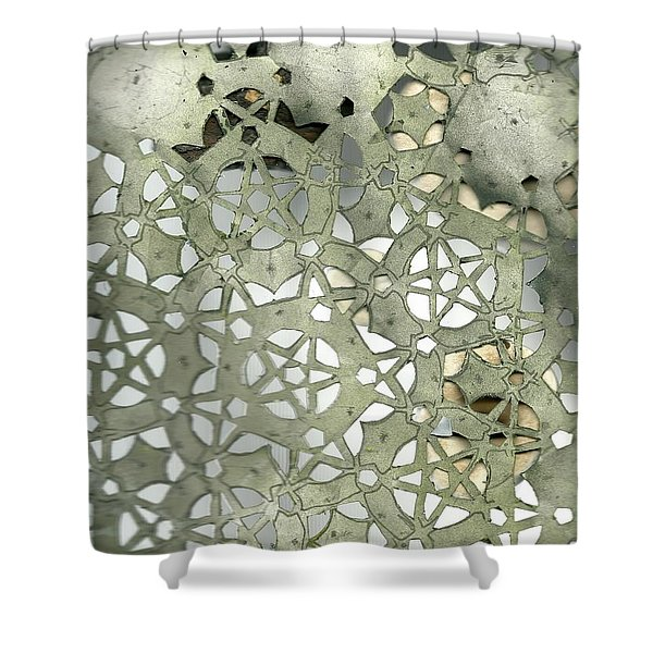 Stone Sky Shower Curtain