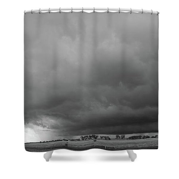 Storm Chasin In Nader Alley 009 Shower Curtain