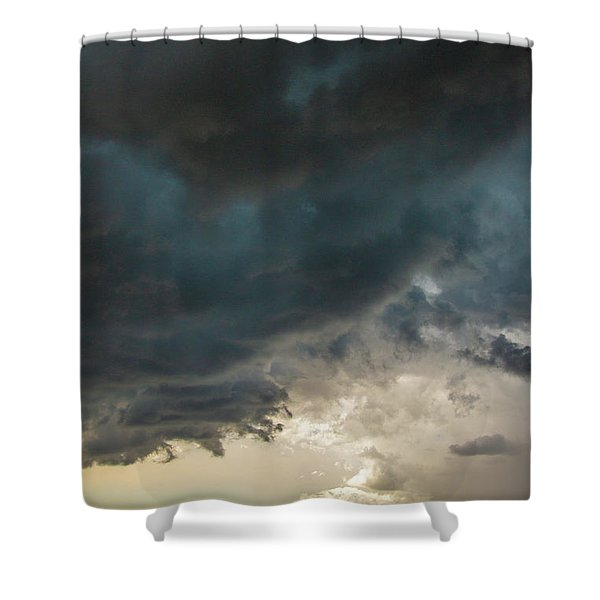 Storm Chasin In Nader Alley 012 Shower Curtain