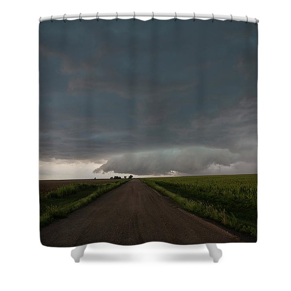 Storm Chasin In Nader Alley 025 Shower Curtain