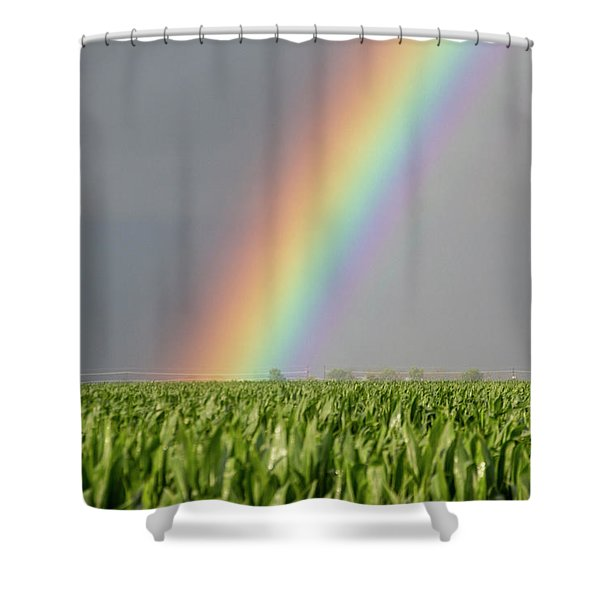 Shower Curtain featuring the photograph Storm Chasing After That Afternoon's Naders 023 by NebraskaSC
