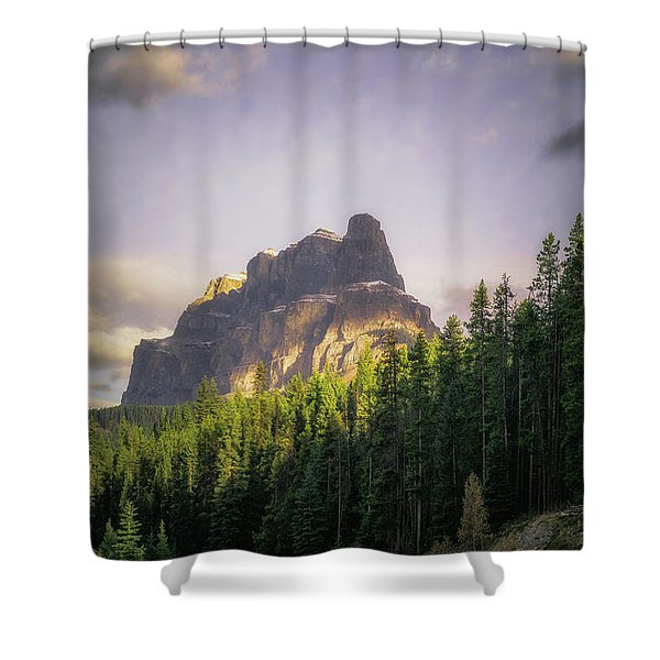 Storming The Castle Shower Curtain