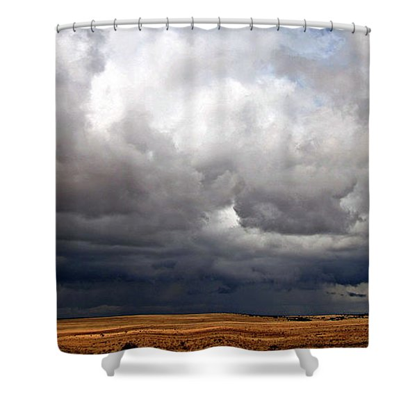 Storm's A-gathering Shower Curtain
