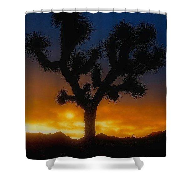 Stormy Sunrise Shower Curtain