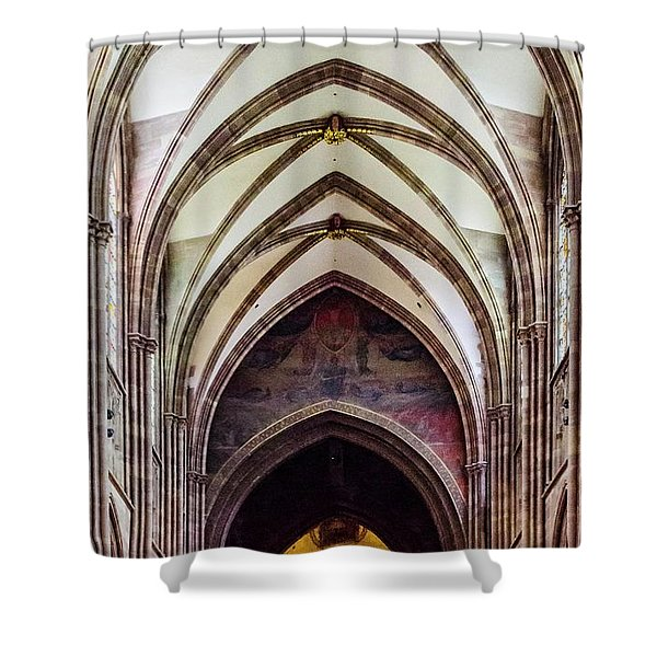 Strasbourg Cathedral - 2 Shower Curtain