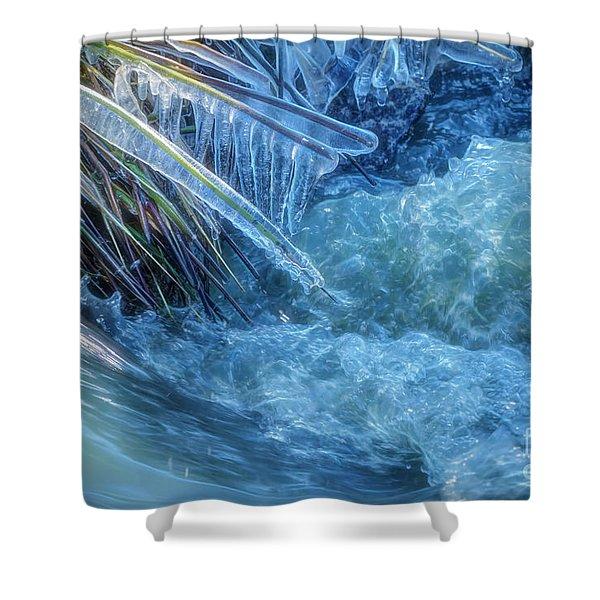 Stream 3 Shower Curtain