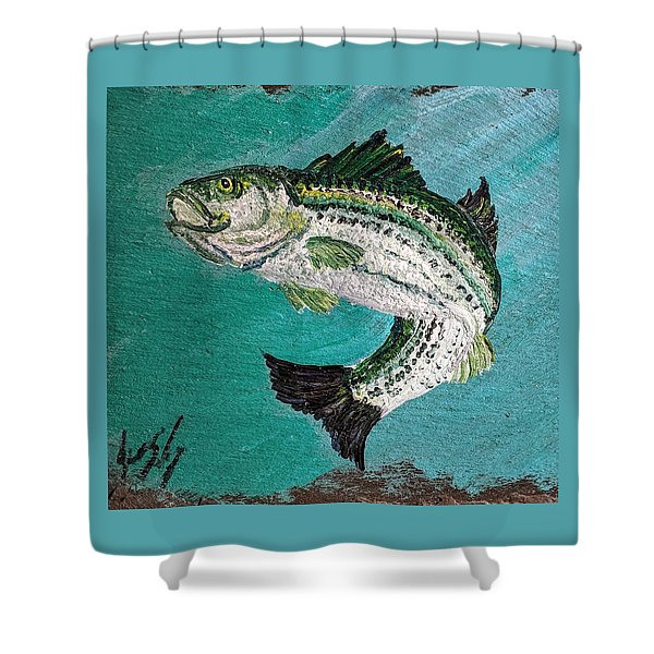 Striper #2 Shower Curtain