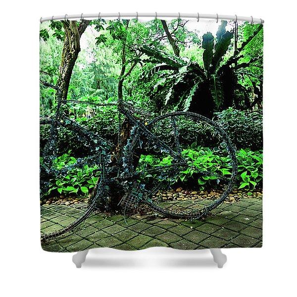 Stroll In Bangkok Shower Curtain