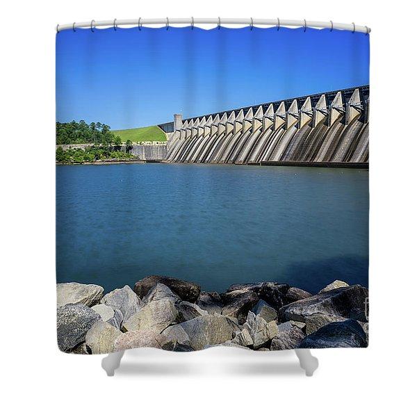 Strom Thurmond Dam - Clarks Hill Lake Ga Shower Curtain