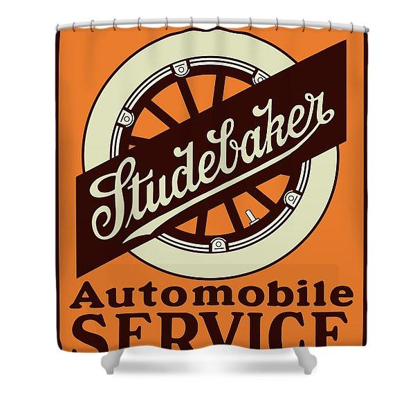 Studebaker Auto Sign Shower Curtain
