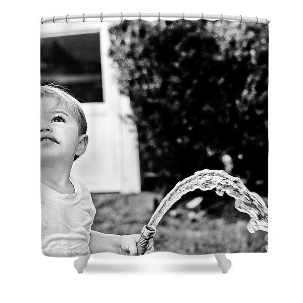 Summer Cool Down Shower Curtain