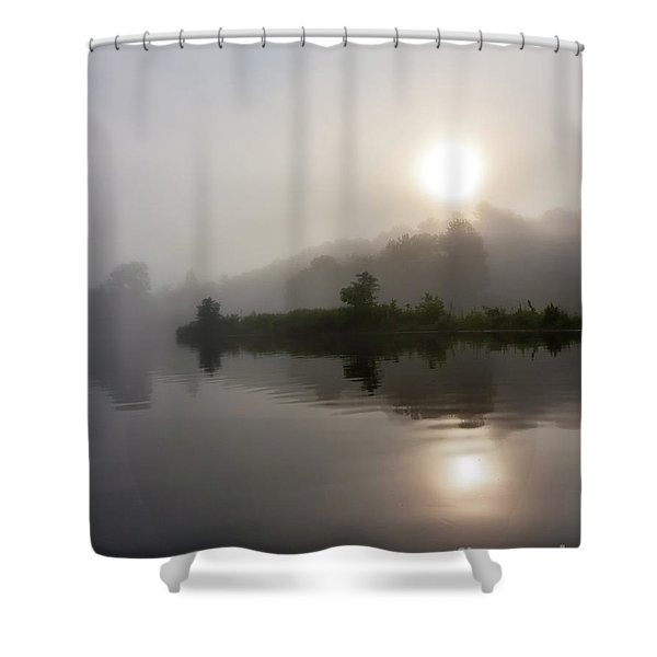 Summer Dawn Shower Curtain