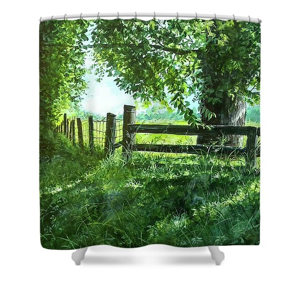 Summer Detour Shower Curtain