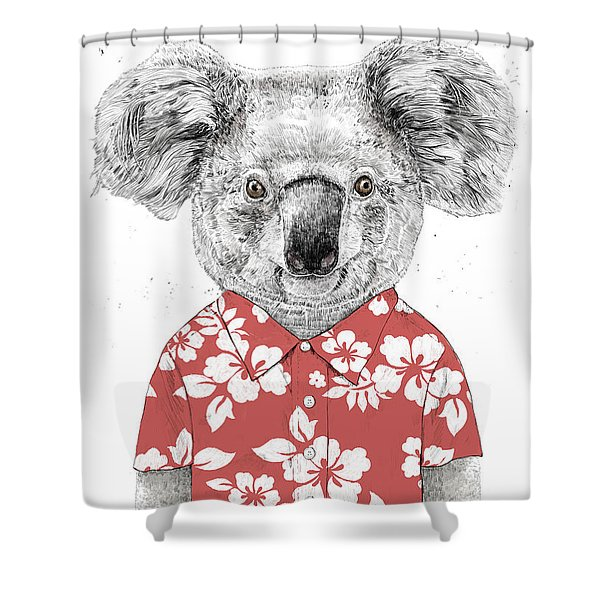 Summer Koala Shower Curtain