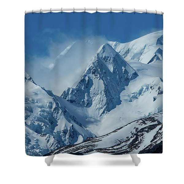 Summer Winds In Mount Cook National Park Shower Curtain
