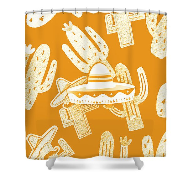 Summerbrero Shower Curtain