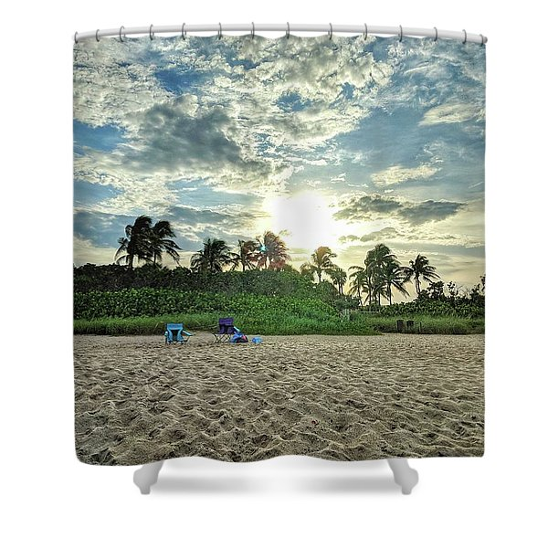 Sun And Sand Shower Curtain