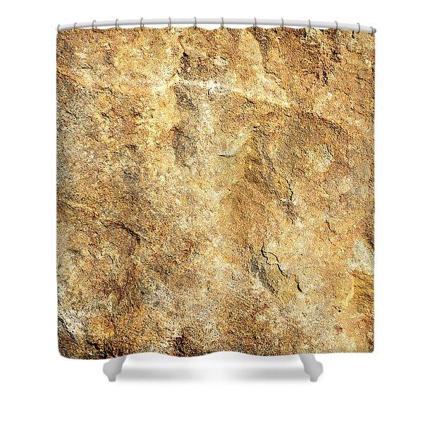 Sun Stone Shower Curtain