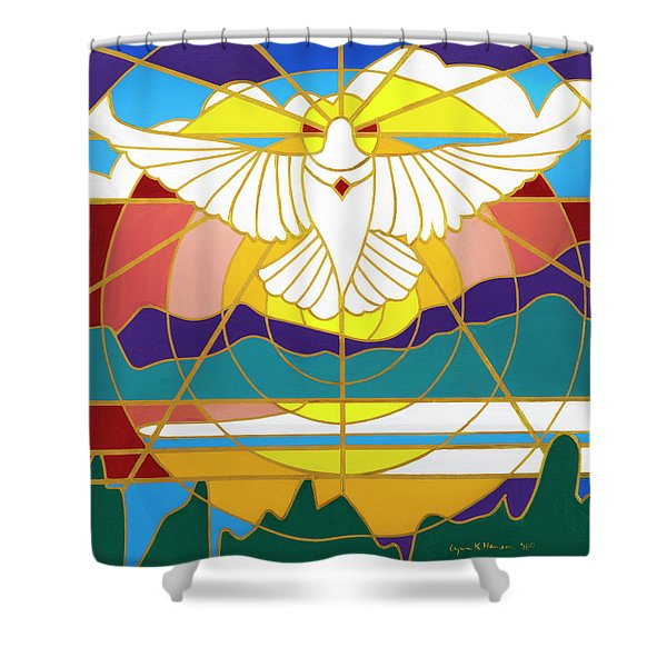 Sun Will Rise With Healing Shower Curtain