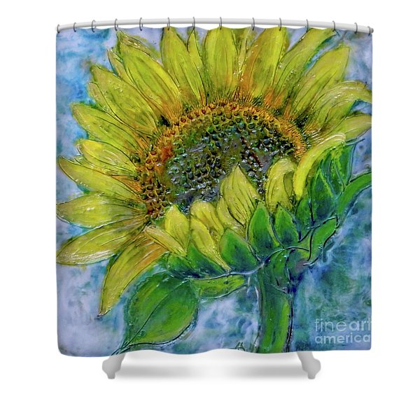 Sunflower Happiness Shower Curtain