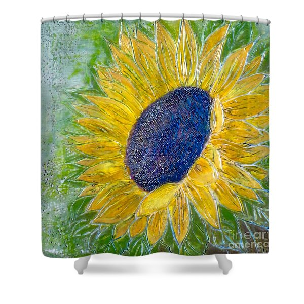 Sunflower Praises Shower Curtain