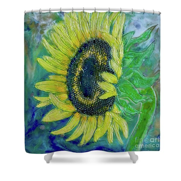 Sunflower Smiles Shower Curtain