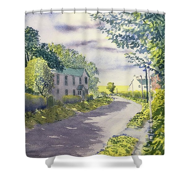 Sunny Side Of The Street Shower Curtain