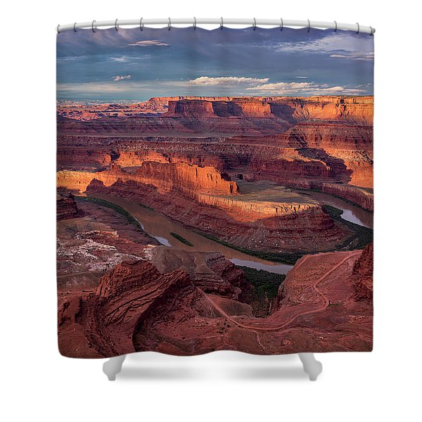 Sunrise At Dead Horse Point State Park Shower Curtain