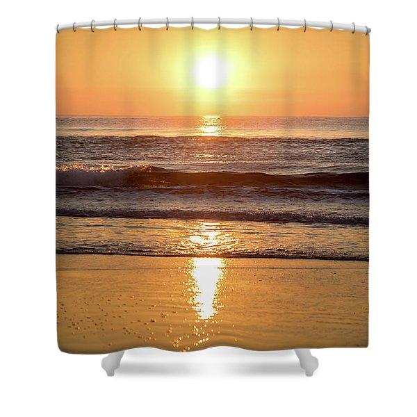Sunrise At Surfers Paradise Shower Curtain