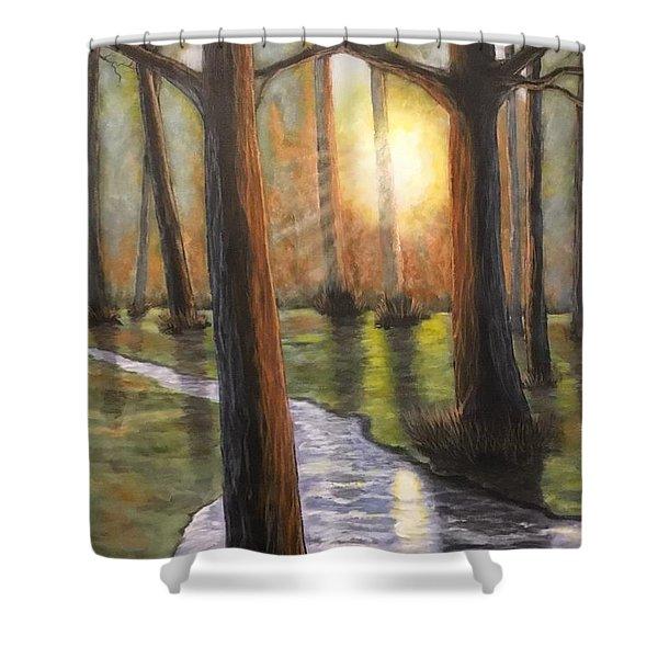 Sunrise Creek II Shower Curtain
