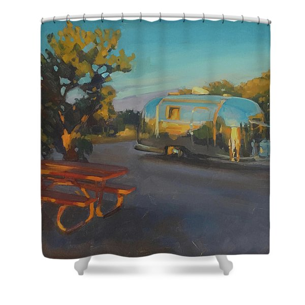 Sunrise In Navajo Monument Shower Curtain