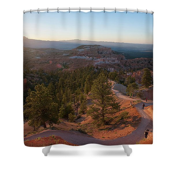 Sunrise Over Bryce Canyon Shower Curtain