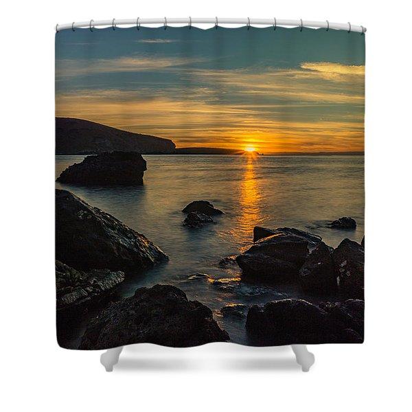 Sunset In Balandra Shower Curtain