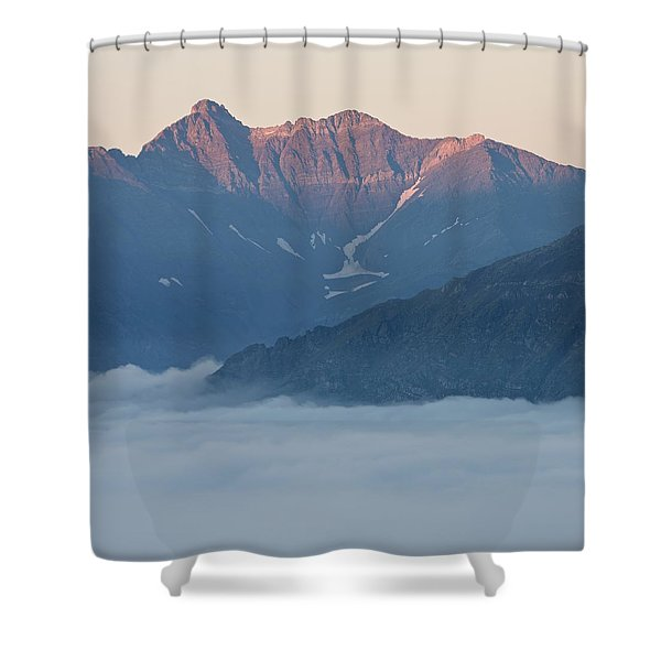Sunset In The Pyrenees Shower Curtain
