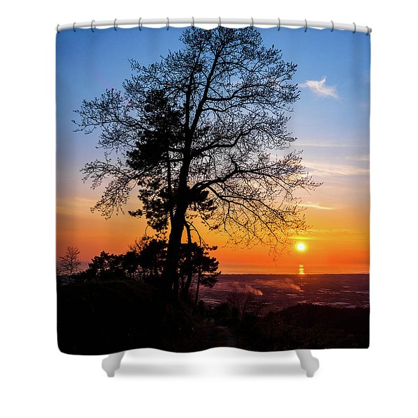 Sunset - Monte D'oro Shower Curtain